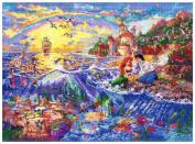 MCG Textiles 52507 The Little Mermaid Cross Stitch Disney Dreams Collection Kit by Thomas Kinkade