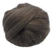Louet Dorper Wool Top- Dark 7.595