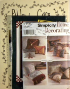 Decorative Pillows Projects Patterns, 3 Sets