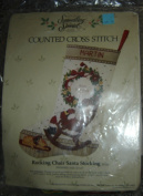 Candamar 'Something Special' Christmas Stocking Counted Cross Stitch Kit