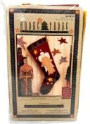 Wonder Art Hodge Podge Quilt Applique Projects Angel Christmas Stocking Kit HP143 Fun Easy Quick Folk Art Craft
