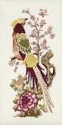 Maia Vintage Peony Embroidery Kit 10 1/2'X5'
