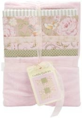 Fabric Editions Cuddly Quilts Girl Soft Assorted MDGAC-CQ3