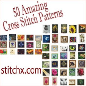 Counted Cross Stitch Patterns - Super Bundle 1 - 50 Amazing Cross Stitch Designs