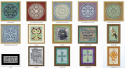Counted Cross Stitch Patterns - Super Bundle 2 - 50 Amazing Cross Stitch Designs