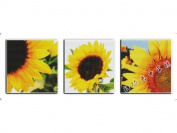 Happy Forever Cross Stitch, flowers,Sunflower