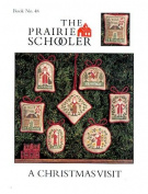 A Christmas Visit Cross Stitch Pattern