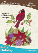 Anita Goodesign Embroidery Designs Cd Jolly Holiday