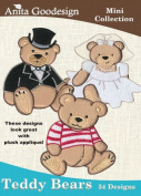 Anita Goodesign Embroidery Designs Cd Teddy Bears