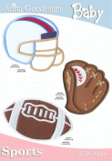 Anita Goodesign Embroidery Designs Pack CD BABY SPORTS