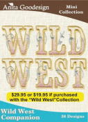 Anita Goodesign Embroidery Designs Wild West Companion