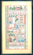 Country Collection designed by Nancy Rossi, Counted Cross Stitch Kit, Dimensions