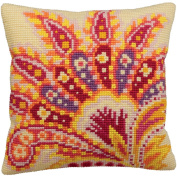 Collection D'art Passion Pillow Cross Stitch Kit 15 3/4'X15 3/4'