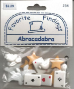 Abracadabra Magic Buttons for Scrapbooking