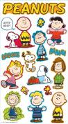 Peanuts Worldwide Puffy Stickers