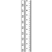 Embossing Folder Border 6.4cm x 30cm -Ruler