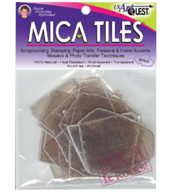 Mica Tile Small Pieces 30ml, Apprx 7.6cm -by-10cm