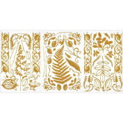 Dazzles Stickers 15cm x 30cm 2 Sheets-Nature's Touch