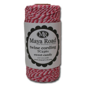 Maya Road TC2361 Baker's Twine Cording, Sweet Candy