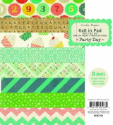 American Crafts Party Day Paper Pad for Scrapbooking