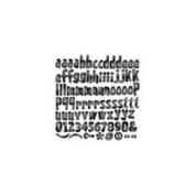 Reminisce Witch's Brew Halloween 12x12 Alphabet Die Cut Stickers