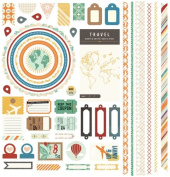 BasicGrey Carte Postal Collection, Element Stickers