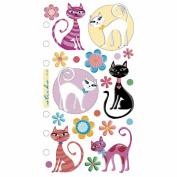 Sticko Vellum Stickers-Krazy Kittens