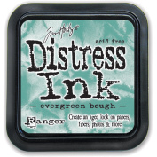 Ranger Tim Holtz Distress Ink Pad, Evergreen Bough