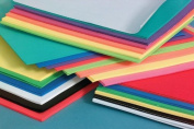 Foam Sheets 30cm x 46cm 12/Pkg-Basic Colours