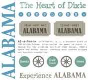 Alabama Stickers USA // SRM Stickers