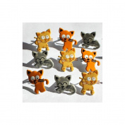 Eyelet Outlet Brads-Kitty