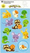 Cartoon Pet Animals Scrapbook Stickers