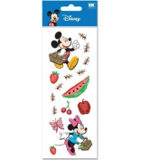 A Touch Of Disney Dimensional Stickers-Summer Picnic