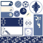 Provincial Fare Tabs and Tags Diecut Punchouts for Scrapbooking