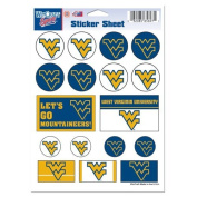 West Virginia University Sticker Sheet 5x7