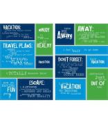 Making Memories Like It Is Die Cut Stickers-Vacation