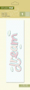 K & Company Studio 112 Page Title Sticker for Scrapbooking