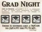 Grad Night Graduation Say It With Stickers Scrapbook Stickers