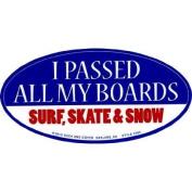 Passed My Boards Sticker