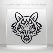 Decals Stickers Wolf Tribal car helmet window Boat jet-ski Garage door 0502 W9355