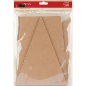 Chipboard Kit-Banner 15cm x 20cm Pieces 6/Pkg