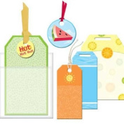 Summer Sizzle Tag Pack for Scrapbooking