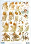 Ecstasy Crafts Reddy Pre Cut -Victorian Angels