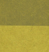 Natural Abaca & Mulberry Paper- Chartreuse 60cm x 90cm Sheet
