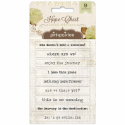 Hope Chest Stickers 9/Pkg-Labels
