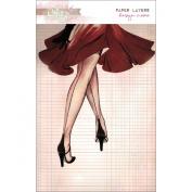 Cashmere Dame Paper Layers 13cm x 18cm 6/Pkg-