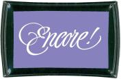 Tsukineko Full-Size Encore Ultimate Metallic Pigment Inkpad, Purple