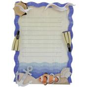 Karen Foster Ocean Vacation Design Scrapbooking and Craft Embellishment Stacked Journaling Box