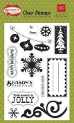 Season's Greetings Clear Stamps