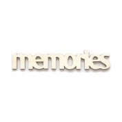 "Fancy Pants Artist Edition ""Memories"" Wooden Phrase Embellishments"